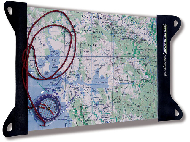 Sea to Summit TPU Guide Map Case Small black